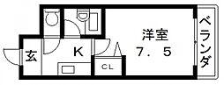 コートビュータワー[702号室号室]の間取り