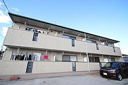 愛知県名古屋市守山区大字中志段味字下寺林の賃貸アパートの外観