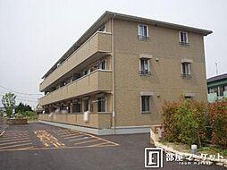 愛知県岡崎市赤渋町の賃貸アパートの外観