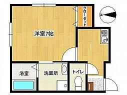 Maison'd Amis[1階]の間取り