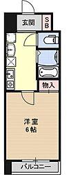 S-FORT京都西大路(旧・グランドパレス西大路七条)[507号室号室]の間取り
