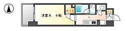 エルスタンザ黒川[8階]の間取り