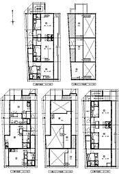 (仮称)港区新川町II 新築アパート[203号室号室]の間取り