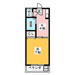 SKY TOWN鈴木[2階]の間取り