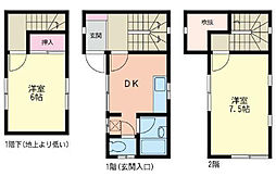 [テラスハウス] 神奈川県横浜市緑区三保町 の賃貸【神奈川県 / 横浜市緑区】の間取り