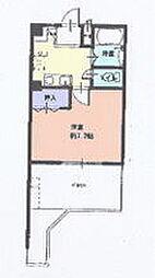 マキビル王子台[702号室]の間取り