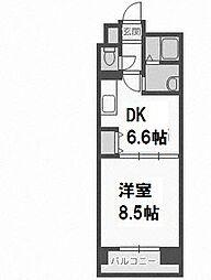 FLAT−A[3階]の間取り