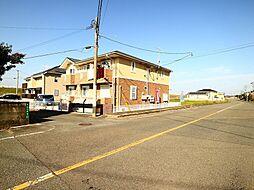 福岡県遠賀郡水巻町古賀1丁目の賃貸アパートの外観