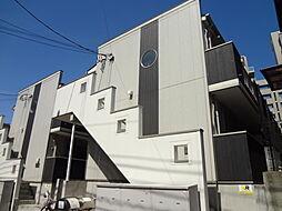 千葉県松戸市吉井町の賃貸アパートの外観