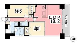 ポルトリエール姫路東[105号室]の間取り