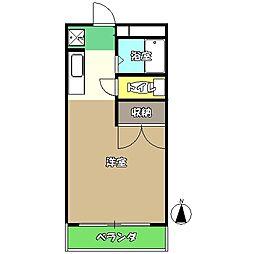 高知県高知市愛宕町2丁目の賃貸アパートの間取り