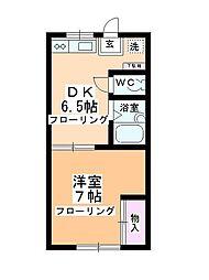 第2多田ハイム[1階]の間取り