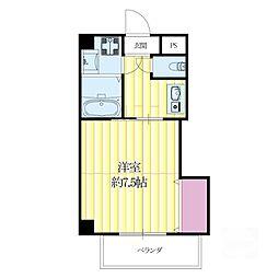 モアメゾンIII[3階]の間取り