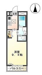 (仮)西町マンション[207号室]の間取り
