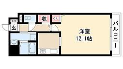 愛知県名古屋市瑞穂区瑞穂通2丁目の賃貸マンションの間取り