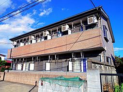 東京都練馬区高野台5丁目の賃貸アパートの外観