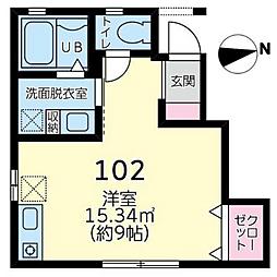 フォレストセゾン橋本[1階]の間取り