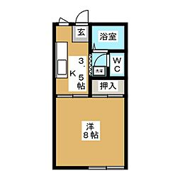 メゾン叶屋パートII[2階]の間取り