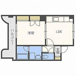 澄川4・3ビル[2階]の間取り