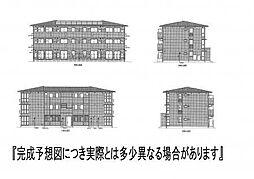 (仮)D−room新生町[302号室]の外観