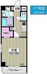 TOCCHI 1番館[6階]の間取り