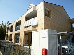 静岡県磐田市中泉の賃貸アパートの外観