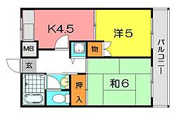 KT−14[2階]の間取り
