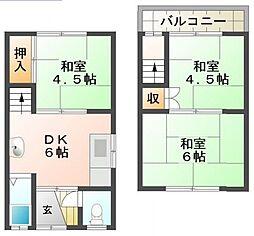 保城メゾネット(松尾様)[1階]の間取り