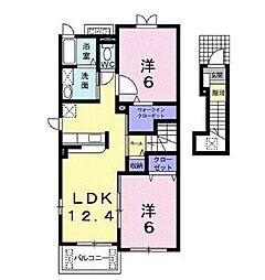 ファミリータイズII[2階]の間取り