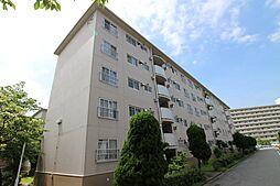 神陵台北住宅65号棟[3階]の外観