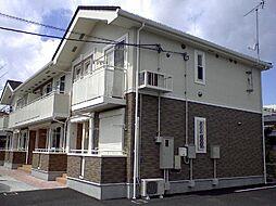 栃木県宇都宮市泉が丘2丁目の賃貸アパートの外観