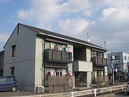 滋賀県守山市二町町の賃貸アパートの外観