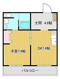 Grand Maison Aoi[1階]の間取り
