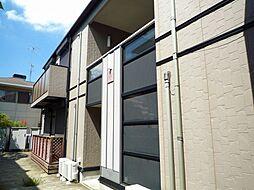 神奈川県川崎市多摩区生田4丁目の賃貸アパートの外観