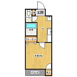 藤コーポ[2階]の間取り