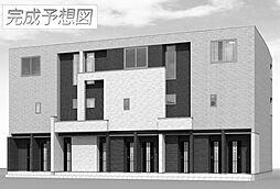 兵庫県姫路市南条1丁目の賃貸アパートの外観