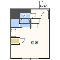 N405ビル[4階]の間取り