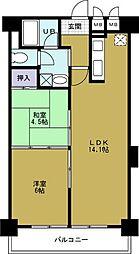 第8柴田ビル[9階]の間取り