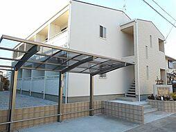 埼玉県東松山市箭弓町3丁目の賃貸アパートの外観