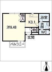 MAYUMI・8[2階]の間取り