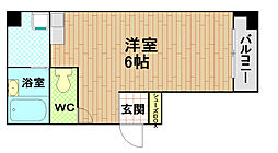 Ryuge Bild[6階]の間取り