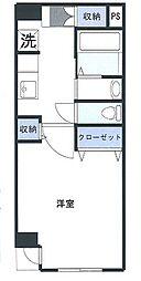 ADDRESS YOKOHAMA[102号室]の間取り
