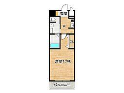 アドバンス大阪ドーム前[7階]の間取り