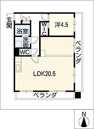 セキスイハイム徳川レジデンス[12階]の間取り