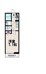 リブリ・YUME[1階]の間取り