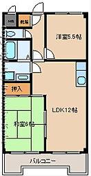 グランセリオ西神戸[307号室]の間取り