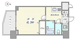 フェニックス西新宿弐番館[302号室号室]の間取り