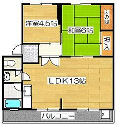 サイトウマンション[301号室]の間取り