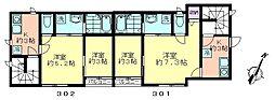 73nakagami[3F2戸号室]の間取り