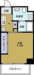 JJ COURT市岡元町[7階]の間取り